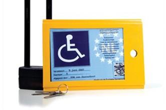 kaartkluis gehandicaptenkaart